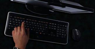 Безжична клавиатура Logitech K800