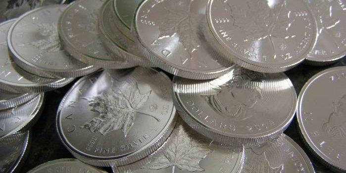 сребърни монети